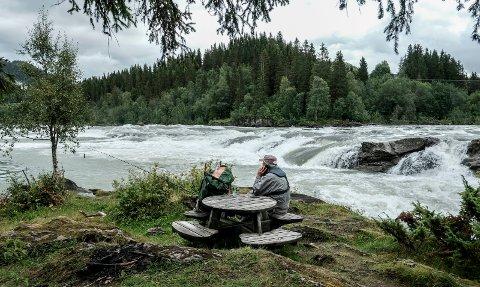 Laksefiskere kan endelig begynne å se fram til å fiske i Ranelva igjen. Arkivfoto: Karina Solheim