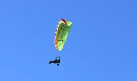 Luftig: Hedmarken luftsportklubb ønsker seg mer aktivitet med å bruke mjøsisen.