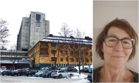 Anne Berit hadde kjøpt seg kaffe på sykehuset og var på veg mot bilen, da hun plutselig lå langflat på bakken.