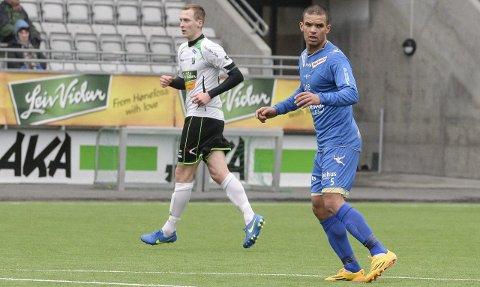 Kamal Saaliti, her i Notodden-drakt i 2015, er spilleklar for Jevnaker, melder klubben på sine nettsider.