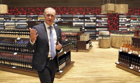 BLIR STØRST: Administrerende direktør Travel Retail Norway, Håkon Fjeld-Hansen blir størst i Norge på Gardermoen. Foto: SCANPIX