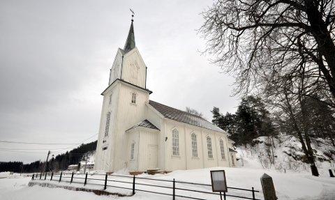 JULEGUDSTJENESTE: Holmsbu kirke holder julegudstjeneste klokken 16.00 på julaften.