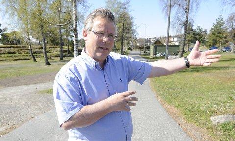 Gir seg: Pål Berthling-Hansen driver Langeby camping ut sesongen. Han er ikke imponert over Sandefjord kommunes behandling i campingsaken. Arkivfoto: Atle Møller