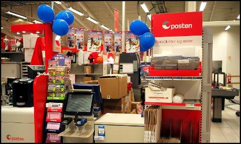 PAKKER: Coops-butikker over hele landet venter 2,4 millioner pakker i tiden fram mot jul. Nå oppfordrer Extra Iseveien at kundene bør hente pakkene så snart de får hentelapp eller melding på mobilen om at pakken er ankommet.