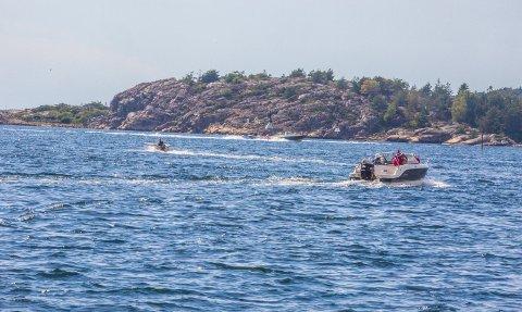 SOMMER: Mange båteiere opplever at andre båtførere er til sjenanse og bryter fartsgrensene.