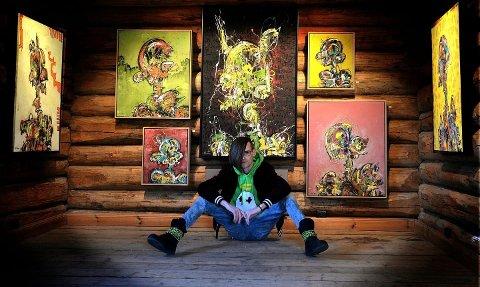 Første gang på Soli: Fredrikstad-kunstneren Stian Borgen er blant utstillerne når Soli Brug åpner sin forsommerutstilling.