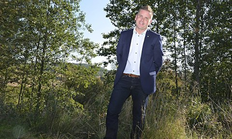 Tenker grønt: Hobøl-ordfører Håvard Osflaten vil bygge klimavennlige boliger i Hobøl. Arkivfoto