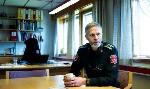 Torgeir Andersen er brannsjef i Drammen og ble nylig valgt til styreleder for Indre Østfold brann og redning.
