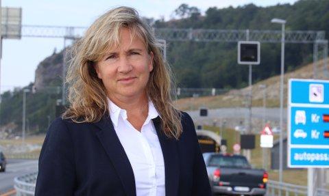 IRRITERT: Strand-ordfører Irene Heng Lauvsnes ble sint og irritert over at Ryfylketunnelen måtte stenges i retning Hundvåg i nærmere tre timer mandag kveld. Arkivfoto