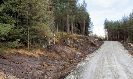 NY VEI: – Jeg er helt sikker på at mange turgåere og andre vil finne glede i å benytte den nye veien, sier prosjektleder Steinar Bygdås i Statnett om den nye grusveien opp til Uburen.