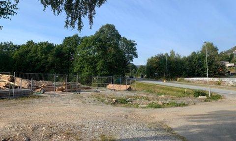 UTBYGGING: I dette området på Tungland bygges nye boliger og dermed også nye veier som trenger gatenavn. De foreslåtte gatenavnene er det ikke alle som liker.