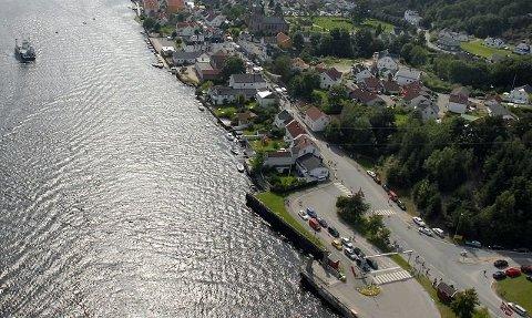 VENTEROM: Det etterlyses et venterom ved Ferjeleiet i Svelvik