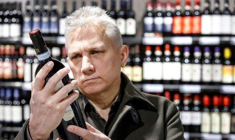 Avgiften på vin øker med 1,4 prosent. Foto: Gorm Kallestad, NTB scanpix/ANB