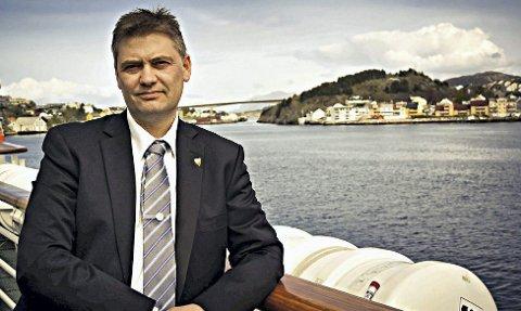 Jan Steinar Engeli Johansen i Averøy Frp.
