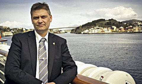 Stortingsrepresentant for Fremskrittspartiet Jan Steinar Engeli Johansen fra Averø.