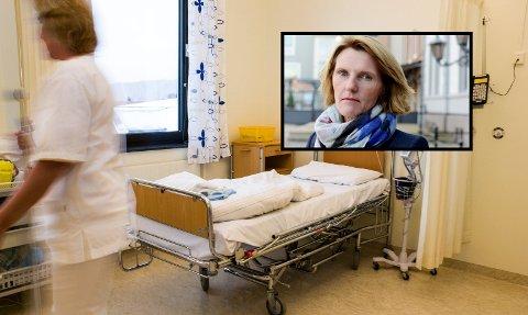 BER OM PRIOIRTERING: Pasientombud Torunn Grinvoll mener influensa og beinbrudd dukker opp hver år, og ikke bør komme overraskende på helsevesenet.