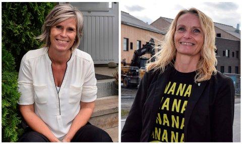 ORDFØRERKANDIDATER: Tove Beate S. Karlsen (H) og Guri Bråthen (Ap). Arkivbilder/Oppland Arbeiderblad
