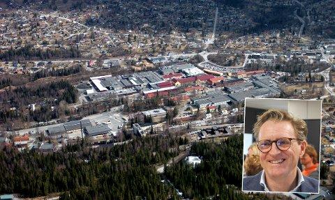 STORE AMBISJONER: Styreleder Ted Skattum og Raufoss industripark har mål om å doble industriparkens areal. Arkivbilder