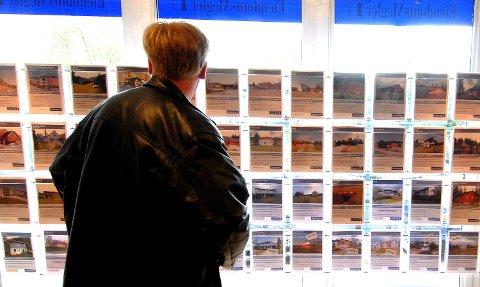 Boligmarkedet boligsalg eiendomsmeglere eiendom