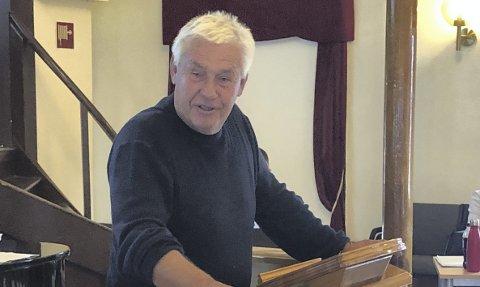 Initiativ: Olaf Trysnes satte brygga i Basthaven på den politiske agendaen. Tirsdag ble saken behandlet i teknikk, plan og naturutvalget. Arkivfoto