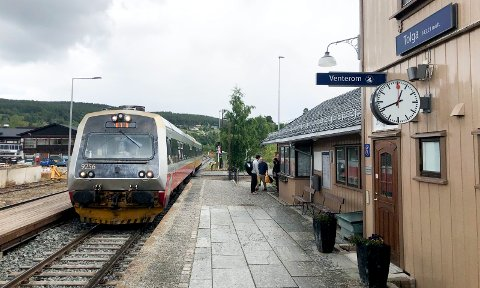 FOR GAMMELT: BM92-settene, som dette i trafikk for SJ Norge (Nord) på Tolga stasjon, er snart 40 år gamle og fases ut i 2021.