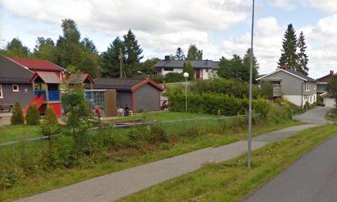 Toveien på Vinterbro.