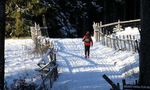 VINTERDRØM: Det blir spennende å se om skiføret holder seg gjennom mildværet.