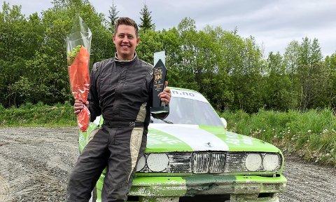 NY TREDJEPLASS: Robin Slåttekjær tok tredjeplass i den andre NM-runden på Bollandsmoen i Melhus i Trøndelag.
