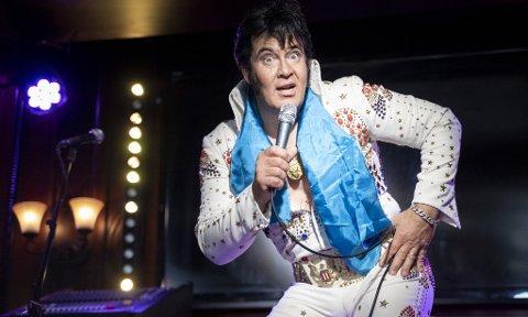 REKORD: Elvis-imitator Kjell Elvis (Kjell Henning Bjørnestad) har satt verdensrekord. Foto: Fredrik Hagen / NTB scanpix