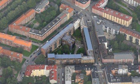 Totalt skal det bygges 38 nye leiligheter i Sannerkvartalet, som i dag består av Sannergata 32, Dælenenggata 40 og Christies gate 19.