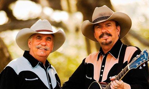 The Bellamy Brothers kjem til Hordabøhallen 9. september. Pressefoto