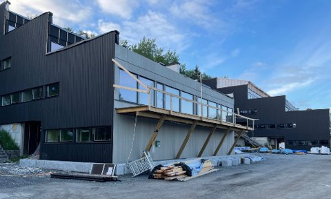Forsinket: Oppgraderingen av de tidligere sykehusboligene i Junkerveien er forsinket.