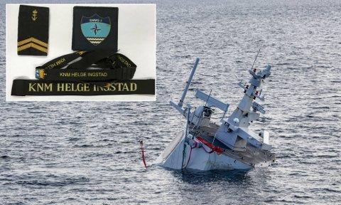 Mannen var leid inn for å tømme fregatten etter forliset. Han falt for fristelsen, og tok med seg noen «klenodier» hjem.