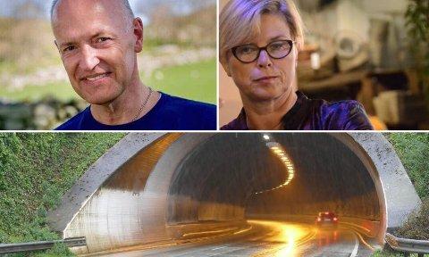 Mer fakta: Høyre-representantene Frank-Arild Normanseth og Elin Schanche mener det trengs mer kunnskap om blant annet kostnader ved en redningsbil i beredskap på Sokn.