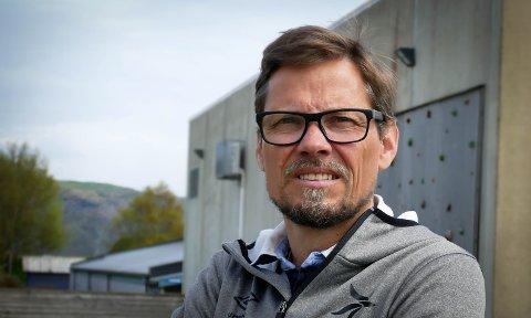 Får ikke støtte: Morten Robberstad ved Raft treningssenter tror at siden han ikke kan stenge helt ned, vil han ikke få den nødvendige støtten. Det er ikke et godt tegn for ham.