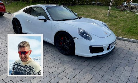 Marius Åberg oppfordrer til å kontakte politiet hvis de har sett den stjålne bilen.