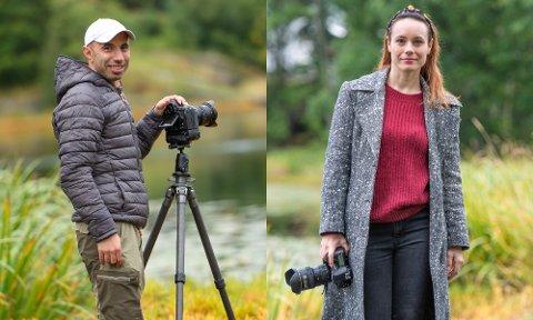Florin og Stefania Andrei har begge blitt dyktige fotografar på dei åra dei har dyrka den store interessa si. No har dei investert mykje pengar i utstyr, og F