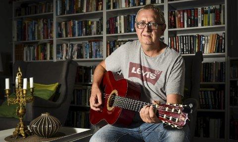 Inspirerende: Rune Kristoffersen, med artistnavnet Rodney Knox, er ute med singelen «Execution Day».Foto: Kent Inge Olsen