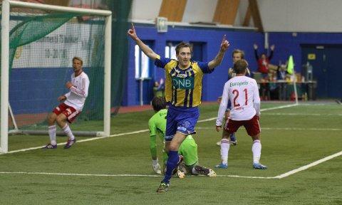 MATCHVINNER SIST: Vegard Braaten ble matchvinner for Alta mot FFK i Finnmarkshallen i 2014 Nå kan han komme til å møte rødbuksene igjen. Foto: Karl Eirik Steffensen