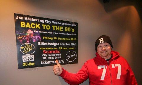Jubileumsår: I 30 år har DJ JR, Jan-Roger Kristiansen, snurret plater. Han feirer det på City Scene i romjula.