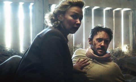 FAVORITTSCENE: Scenen hvor Gudrun og Jan (spilt av Marie Blokhus og Thomas Gullestad) i låven er regissør Harald Zwarts favorittscene  - det kom frem på en   pressekonferansen i desember.