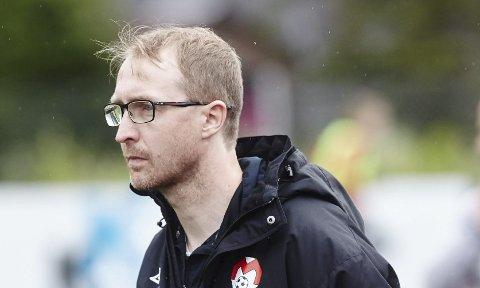 Mjølner-trener Stian Johnsen møter FFK og Per-Mathias Høgmo kommende sesong. Foto: Arkiv.
