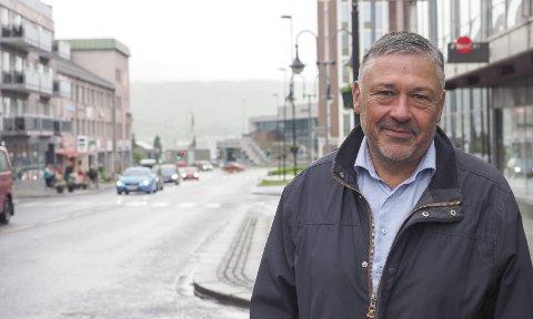 OVERRASKET: Terje Steinsund er overrasket over at næringslivet i Narvikregionen fortsatt ikke har oppdaget at Forsvaret har kommet som en betydelig aktør.
