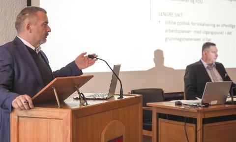 Ja-kommune: – Administrasjonens foretrukne innstilling skal være den positive – den som får noe bra til å skje. sier rådmann Lars Skjønnås. Foto: Terje Næsje