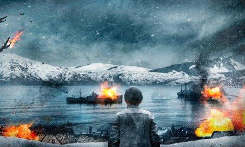 """KRITISK FOR INNSPILLING: Den norske storfilmen """"Kampen om Narvik"""" var midt i innspillingene da koronaviruset kom til Norge. Innspillingene er nå stoppet og det er kritisk for fortsettelsen."""