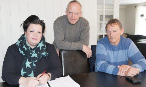 OPPGITT: Den vrakede klagenemnda for eiendomsskatt i Eidskog slår                                              tilbake – og mener at dagens prosess er urettferdig for innbyggerne. Fra venstre: Marthe Melby, Erik Bråthen og Rolf Johnny Digerud. FOTO: PER HÅKON PETTERSEN