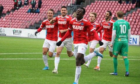 TJENTE BEST: Shuaibu Ibrahim var i fjor under kontrakt med Haugesund, men tjente best av KIL-spillerne.