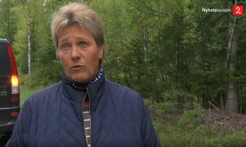 RINGTE POLITIET: Anne Kathrine Ødegård ringte politiet da hun fikk øye på kvinnen som ble tatt hånd om av bilberger.