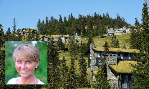 At fotavtrykket av norske hytter utgjør 0,14 prosent av Norges fastlandsareal er vanskelig å forstå at man kan betegne som «nedbygging», skriver Hanne Alstrup Velure.