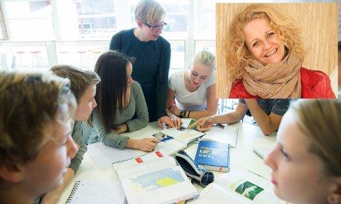 Thea Kamfjord Eriksen etterlyser en skole hvor gjennomføring av videregående skole blir mulig for dem som ellers ville droppet ut.